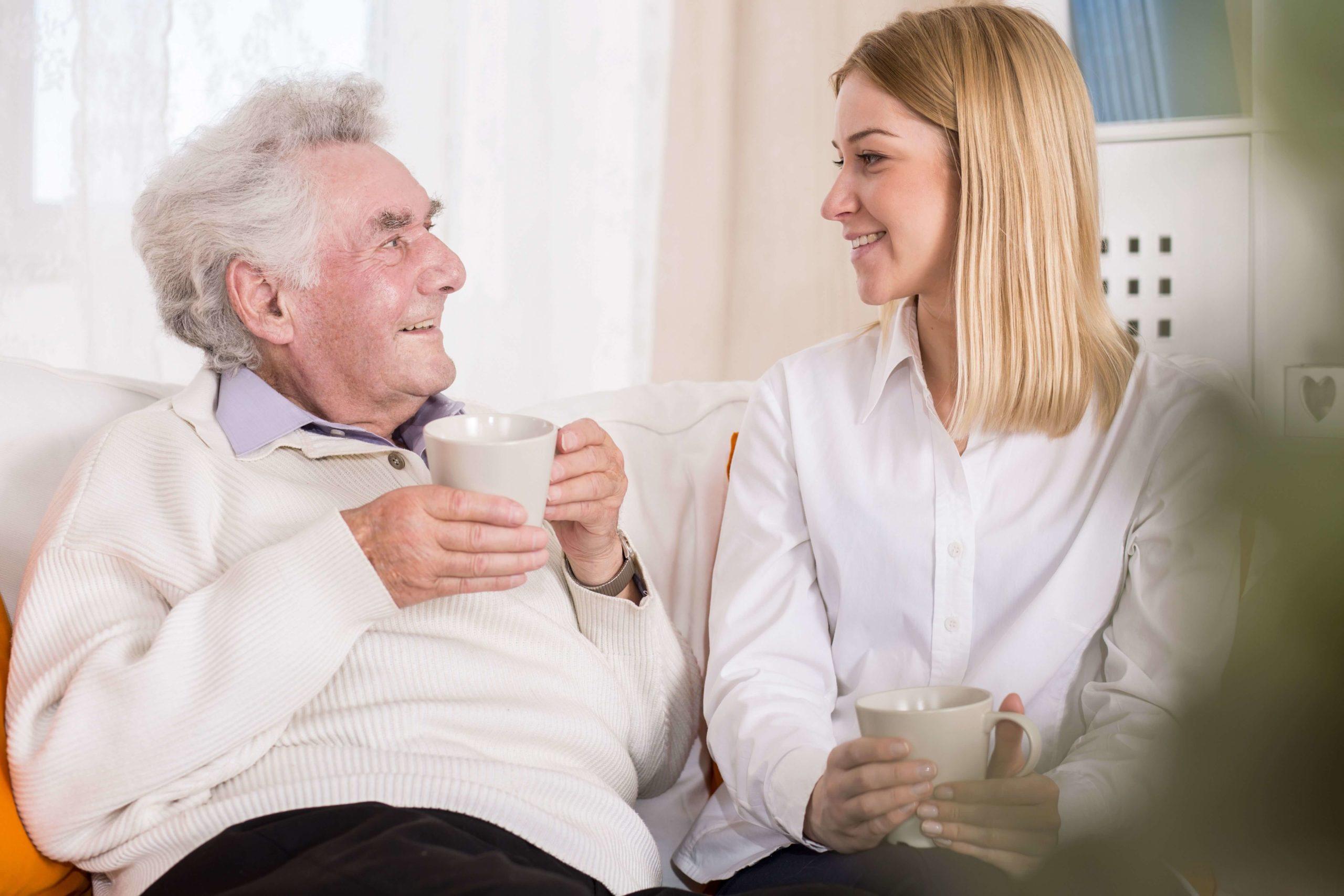 Die Leistung Pflege des Peitinger Pflegedienstes